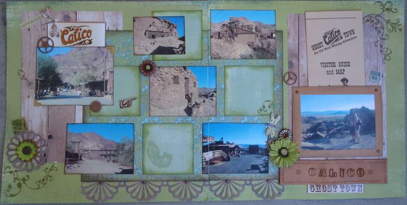 Calico Ghost Town - 2 Page