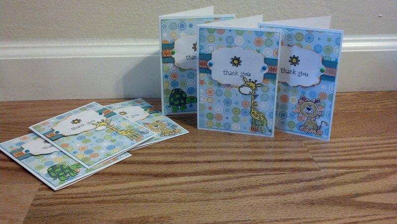 Thank You Birthday Cards (NSD)