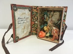Enchanted Forest Altered Book Box