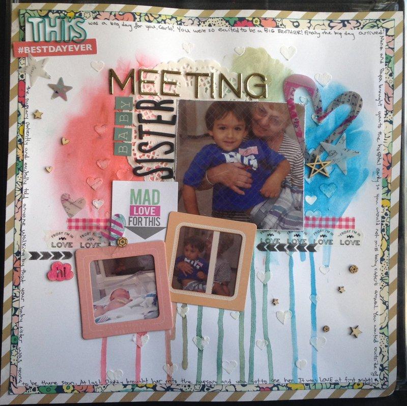 Meeting Baby Sister