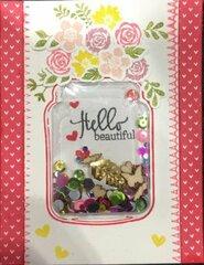 Hello Beautiful (Card 2)