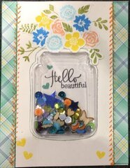 Hello Beautiful (Card 1)