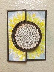Sunflower Thank-You Card