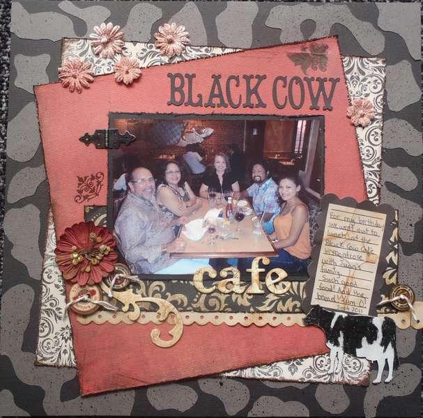 Black Cow Cafe *Scraps of Darkness*