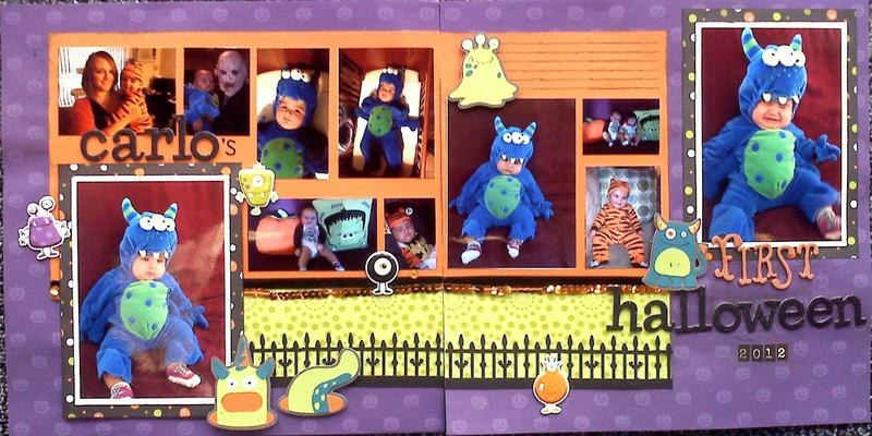 Carlo's First Halloween - 2pager