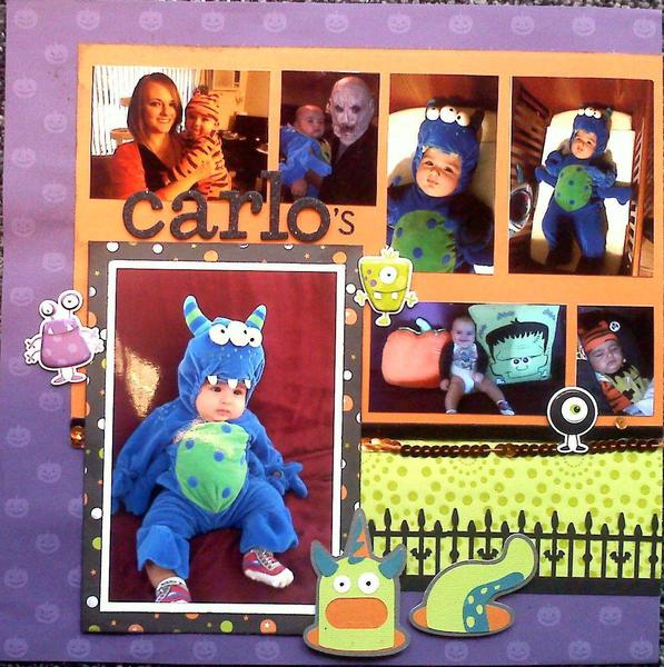 Carlo's First Halloween - Page 1