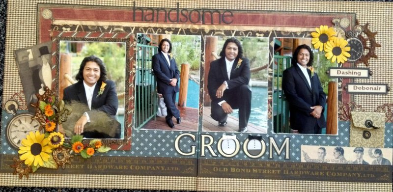Handsome Groom *G45* - 2 pager