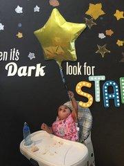 When it's Dark, Look for Stars