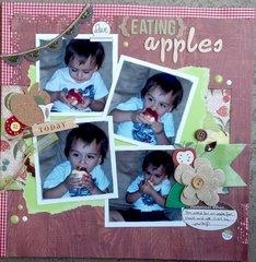 Love {Eating} Apples - NSD Instascrap