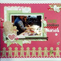 Making Cookies @ Nana's Close-up