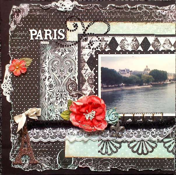 Paris 1996 (page 1) *Scraps of Darkness*