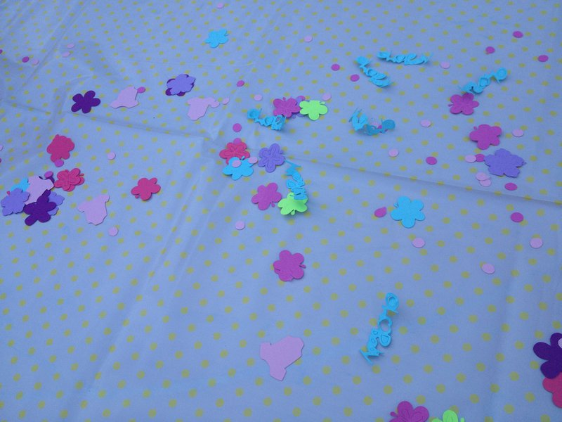 Confetti on the Cricut!!
