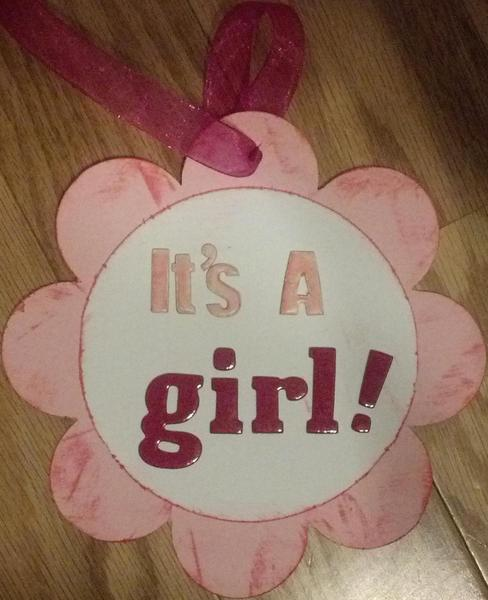 Gift Tags - Baby Girl Shower