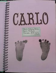 Baby's 1st Memory Book - Inside Cover