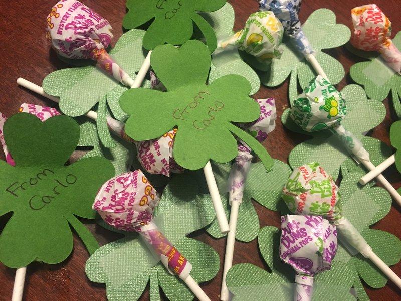 St. Patrick's Day Class Treats