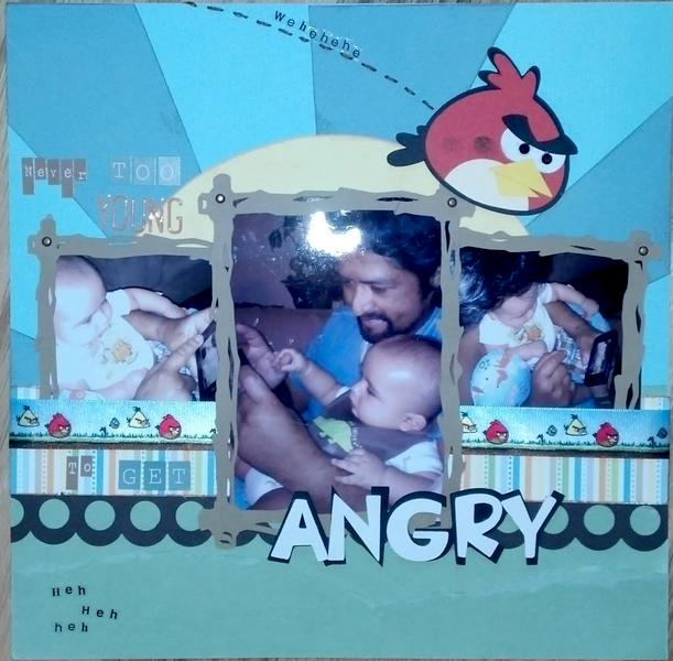 Never Too Young to Get Angry