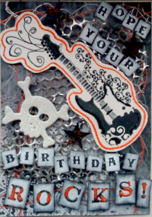 Rocking birthday!