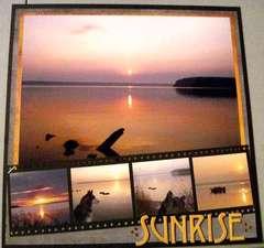 Sunrise at Peninsula State Park