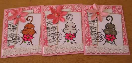 Cat Valentine Card 2012
