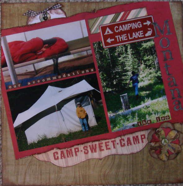 Montana -- Camp Sweet Camp