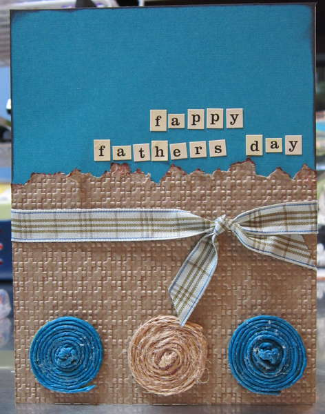 Fathers DAy Card -- NSD challenge