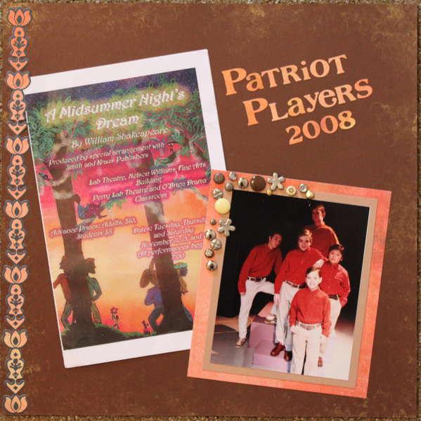Patriot Players - 2008