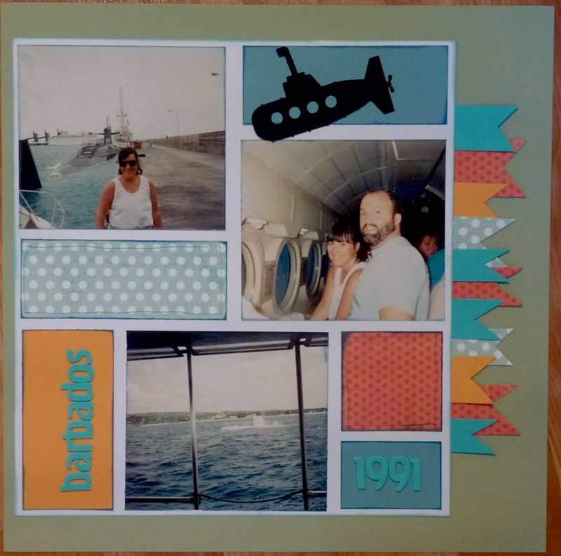 Submarine tour -- Barbados