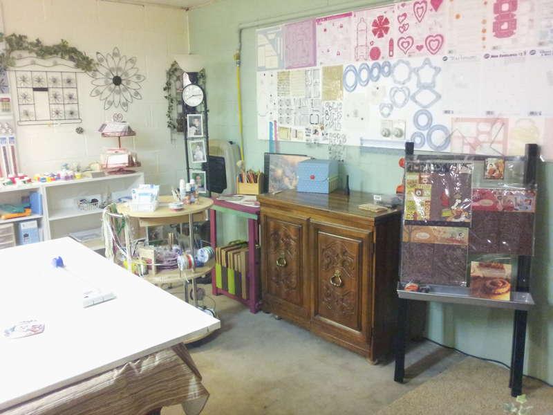 more of my scrapbook room