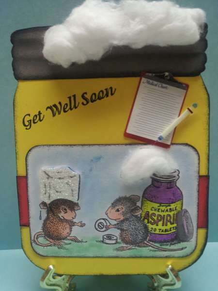 get well house mouse card