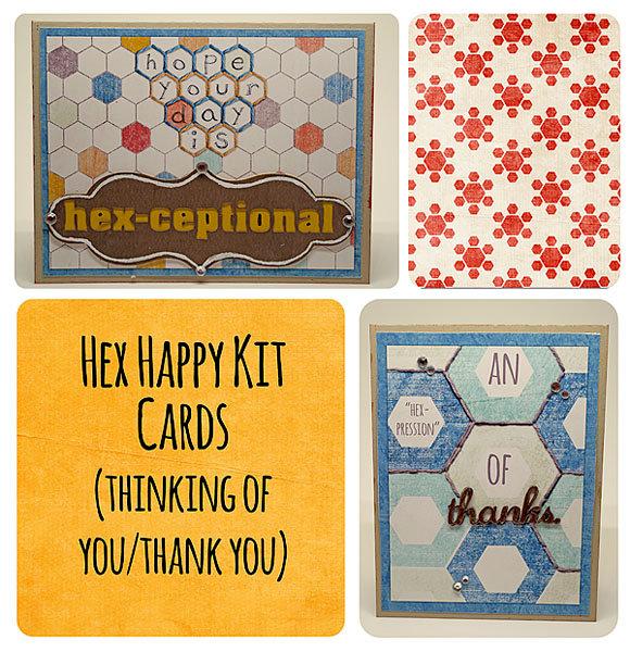 Hex Happy Kit Cards