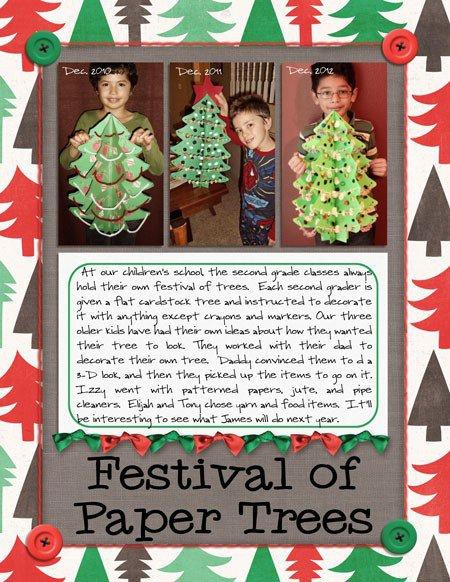 Festival of Paper Trees