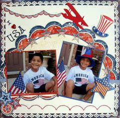 I love USA......