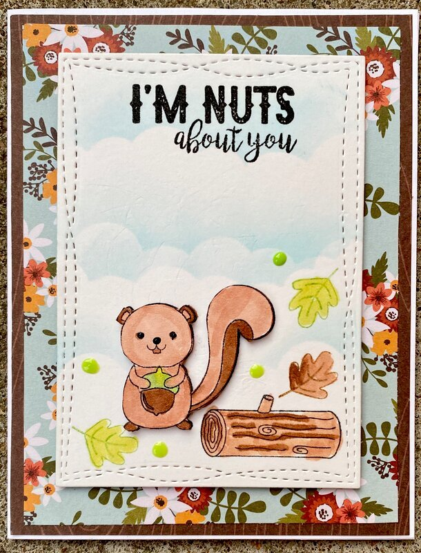 I'M NUTS about you.