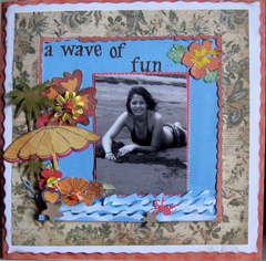 A wave of fun:)