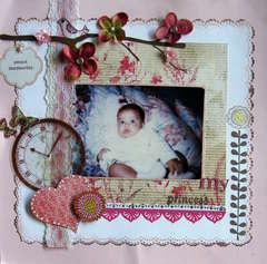 Sweet memories of my princess:)