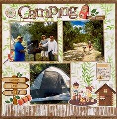 Fun at camping