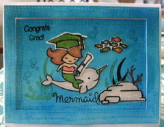 Congrats  Grad (Mermaid)