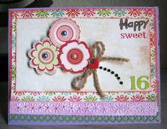Sweet 16  Card :)