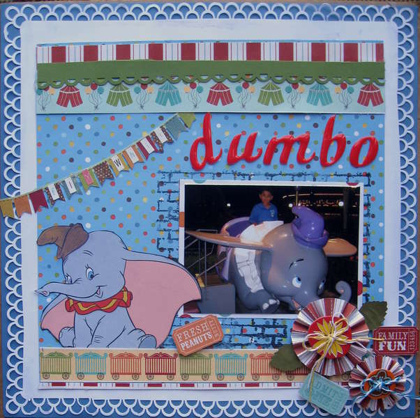 Fly with dumbo......
