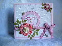 Baby Girl Card..