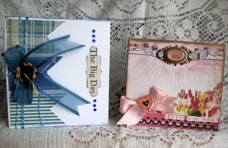 Graduation and birthday cards.