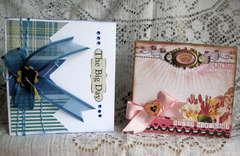 Graduation and birthday cards.