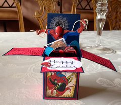 Spiderman Box card