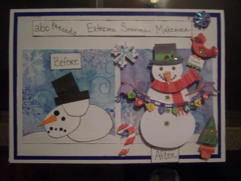 Extreme Snowman Makeover