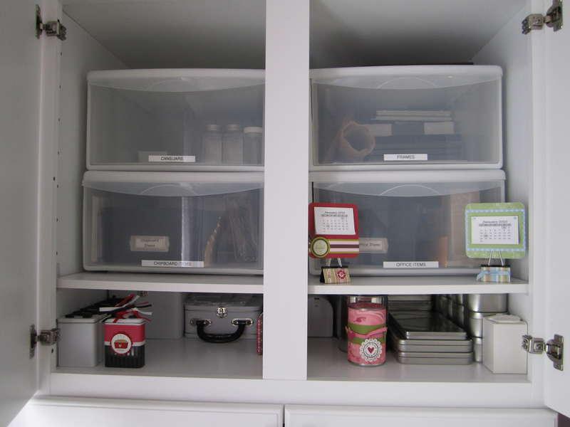 Left Workstation Utility Cabinet - 1