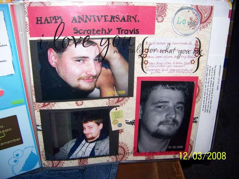 Happy Anniversary Scratchy Travis