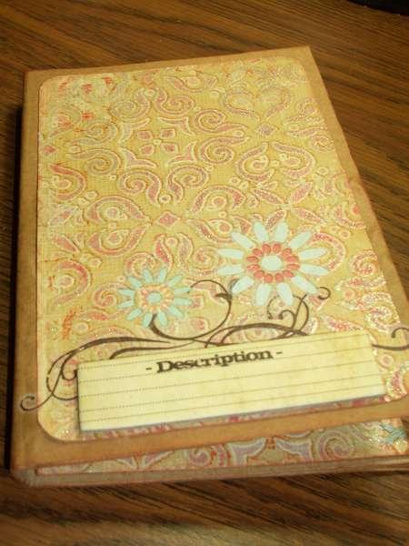 Notebook/Notes Holder