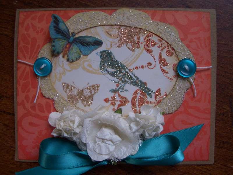 Mariposa Birthday Card