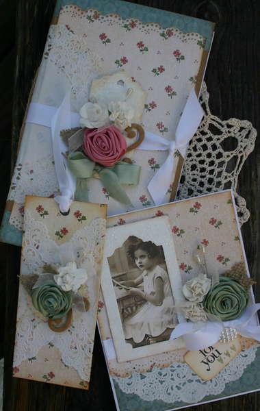 Vintage Shabby Gift Set