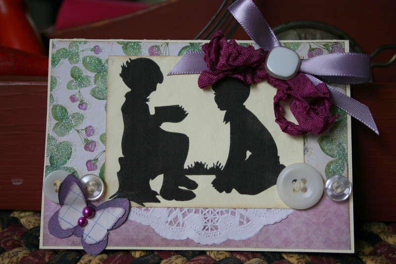 Silhouette Card